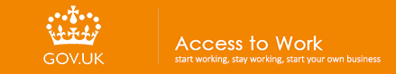 Access to work Logo