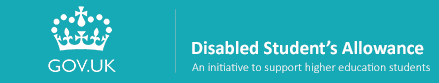 Disabled Students allowance logo